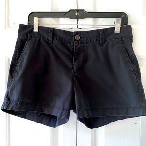 Old Navy Womens Black Low Waist Beach Shorts Sz 4